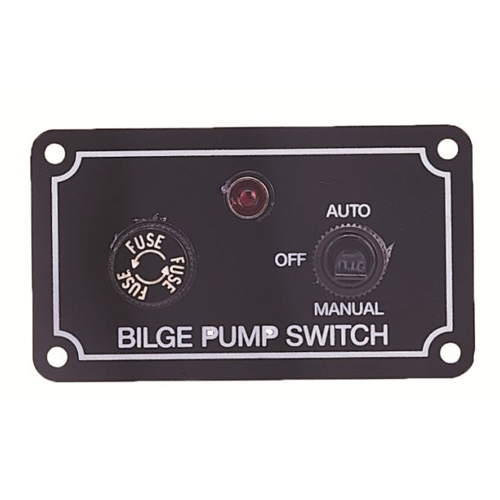 Bilge Pump 12v Switch Panel 3 Way Auto Manual Off