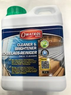 Cleaner and Brightener Deck Cleaner by Owatrol  1Ltr