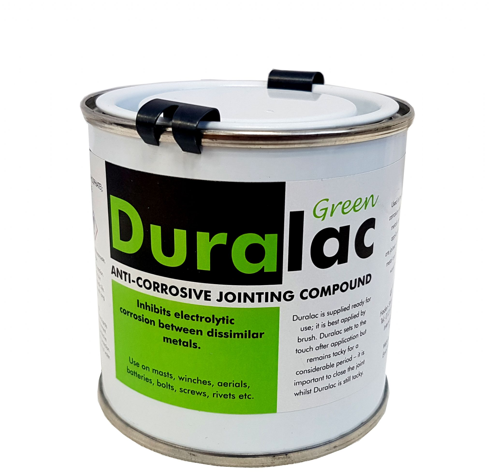 Duralac Green 250ml Tin Duralac Anti Corrosive Compound for Stainless and  Aluminium