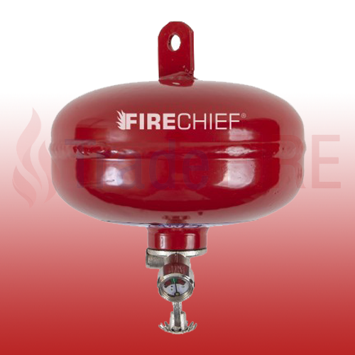 Fire Chief Auto Fire Extinguisher  Dry Power 1kg Engine Room