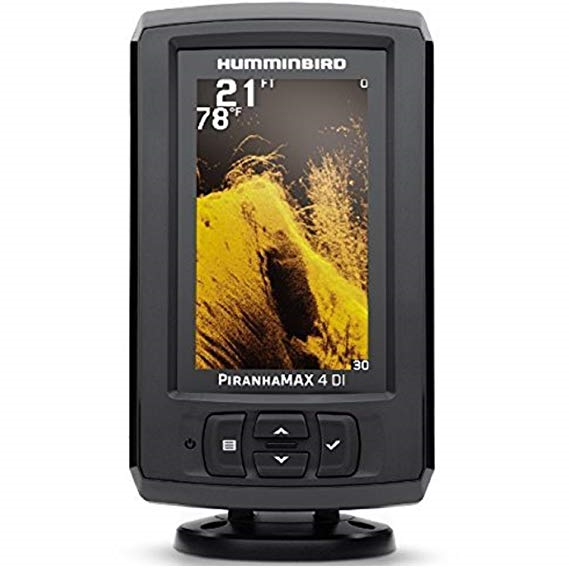 Humminbird PiranhaMAX 4 Colour Dual Beam Sonar Fishfinder 4.3""
