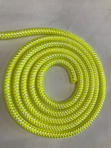 5mm Poly Braided Rope Polypropylene Cord Boat Yacht Dock Line Camping Green 1m