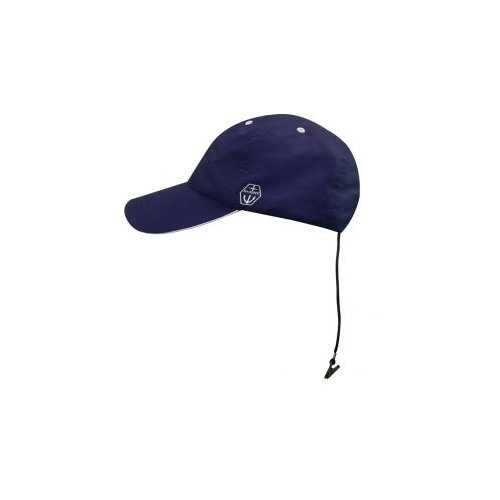 Maindeck Sailing Cap Navy Quickdrying with Retainer Clip