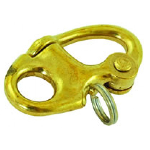 Marine Brass Snap Shackle 76mm