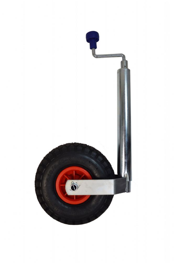 Jockey Wheel 48mm with Clamp /& Inflatable wheel