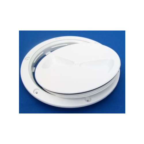 RWO SCREW INSPECTION HATCH and SEAL 125mm White