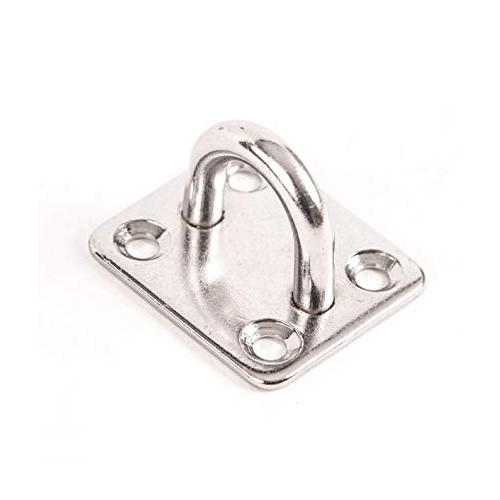 Stainless Steel Eye Plate 40mm x 35mm x 6mm Plate SS