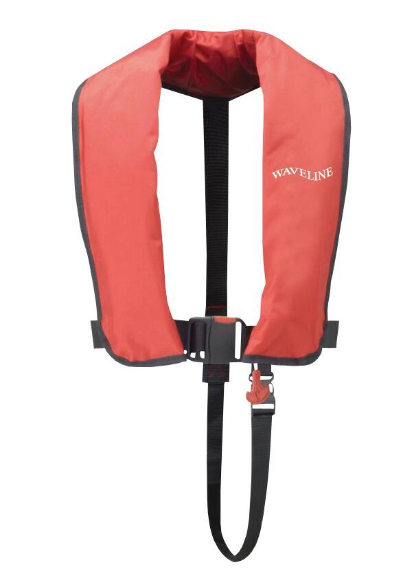 Waveline 165N ISO 12402-3 Red Automatic  LifeJacket