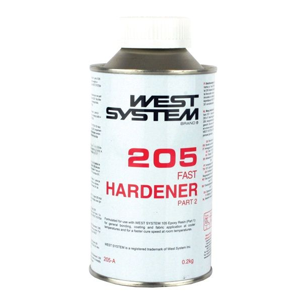 West System 205A 205B Epoxy Hardener  2kg and 1kg 5:1 Ratio
