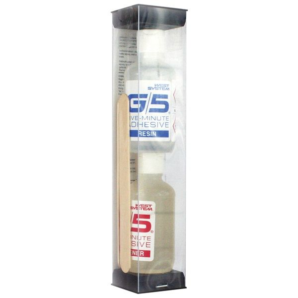 West System G5 Five Minute Epoxy Adhesive 200grm Pack
