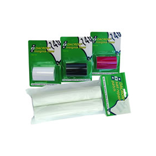 White Dacron Sail Repair Tape 2 Sheets 24cm x 37cm PS1004
