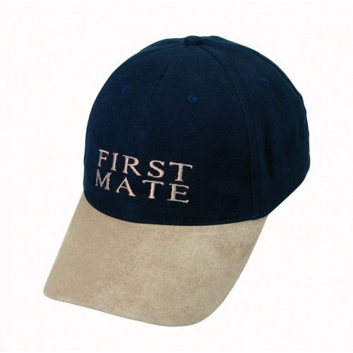 Yachting Baseball Cap - First Mate Nautical Gift 6206